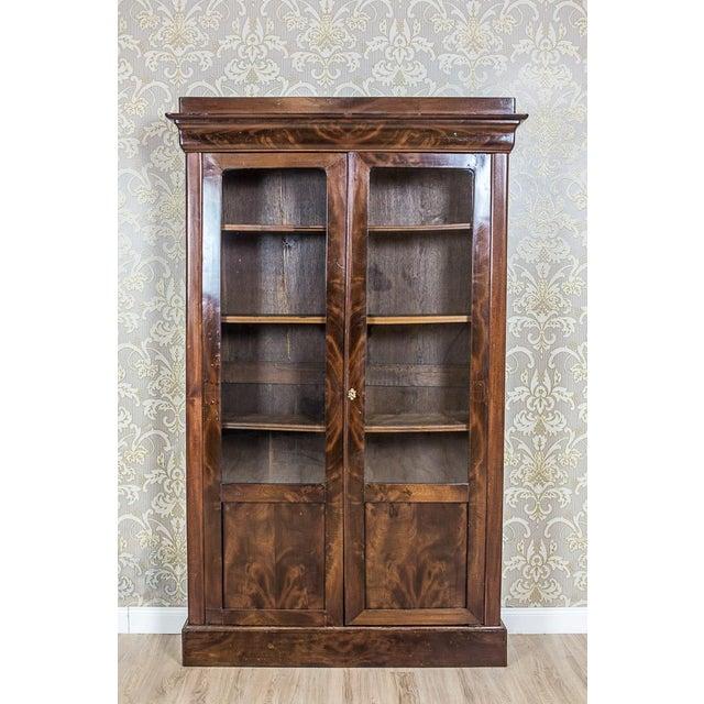 Wood Biedermeier Bookcase, Circa 1850 For Sale - Image 7 of 13