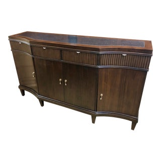 Traditional Walnut Buffet For Sale
