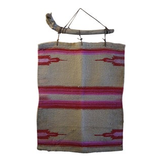 1970s Southwest Textile Wall Hanging For Sale
