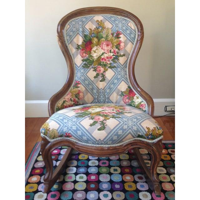Victorian Ladies' Slipper Rocking Chair - Image 10 of 10