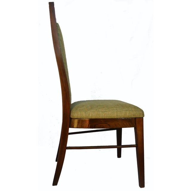1960's Dining Room Chairs in Walnut - Set of 6 - Image 8 of 9