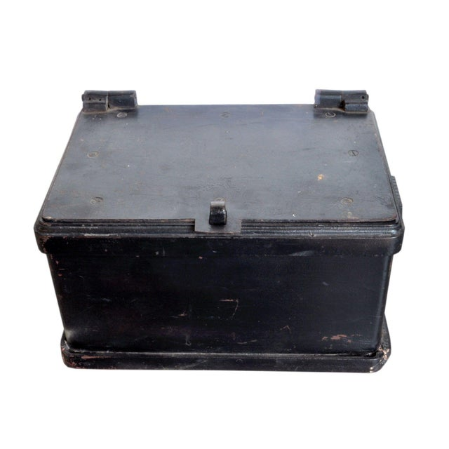 Antique Strong Box For Sale