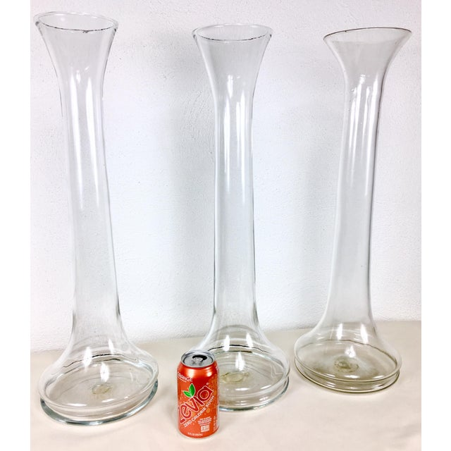 1960 Blenko Monumental Glass Vases Set Of 3 Chairish
