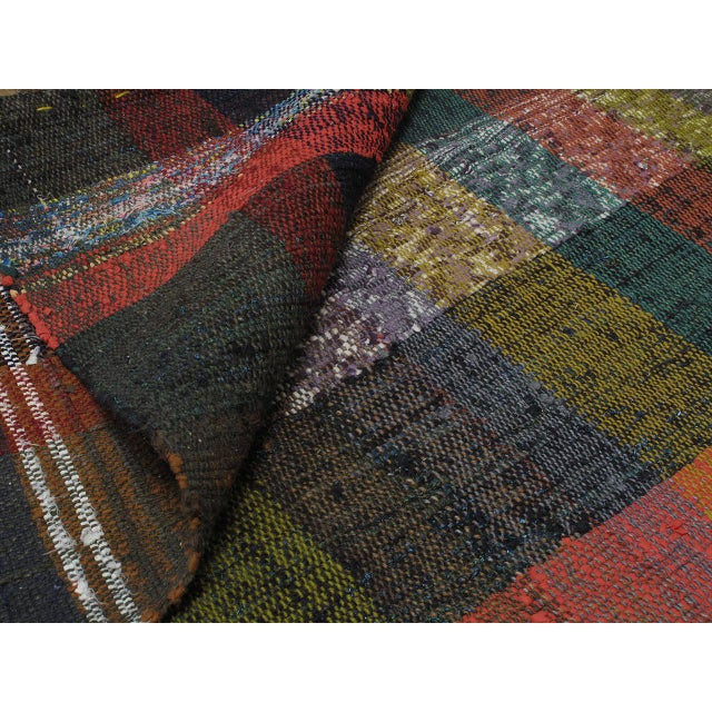 Animal Skin Pala Kilim Runner For Sale - Image 7 of 7