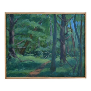 """Path on a Summer Day"" Landscape Painting For Sale"