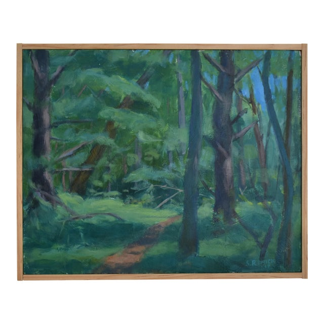 """Path on a Summer Day"" Landscape Painting - Image 1 of 5"