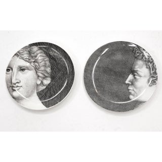 Fornasetti Adam and Eve, Adamo and Eva, 24 Porcelain Plates. Mint Condition. Preview