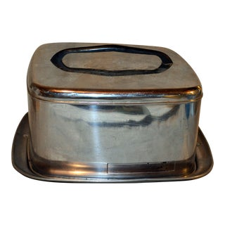 1960s Mid-Century Modern Lincoln Beautywear Cake Carrier For Sale