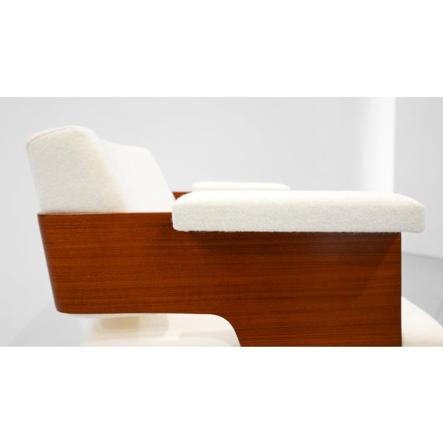 "1950s Antoine Philippon & Jacqueline Lecoq ""Comfort"" Armchair C. 1950 For Sale - Image 5 of 6"