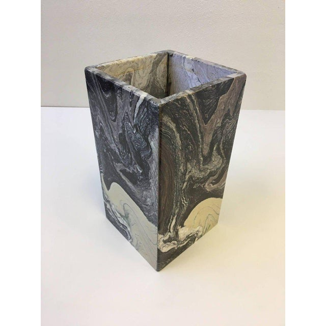 Italian Marble Side Table For Sale - Image 9 of 10