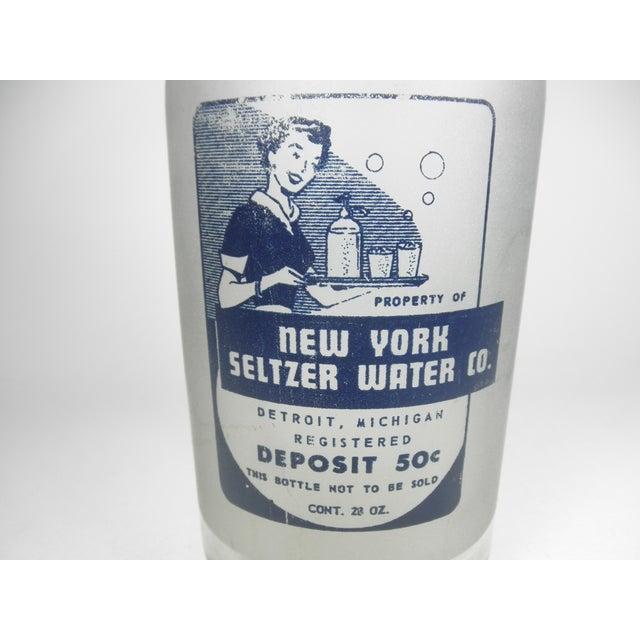 Vintage New York Seltzer Water Co. Bottle - Image 4 of 4