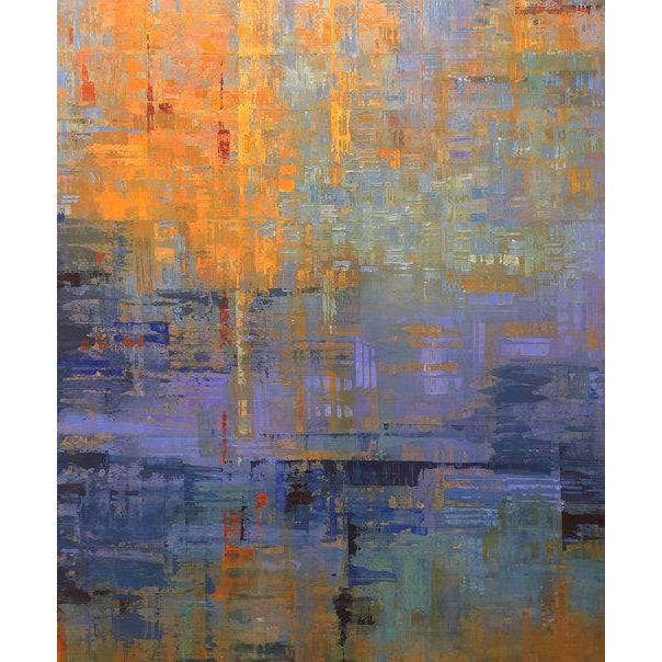 Ned Martin, Nocturne (Diptych), 2018 For Sale - Image 9 of 10