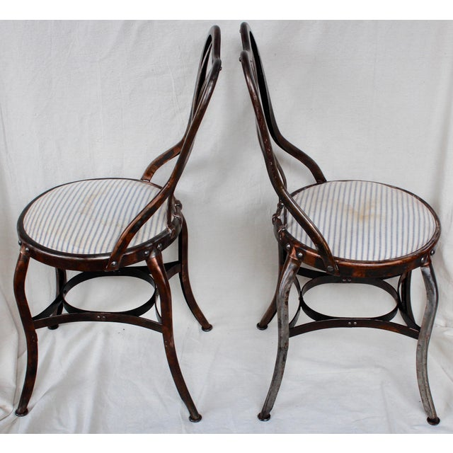 Vintage Toledo Industrial Chairs - A Pair - Image 3 of 8