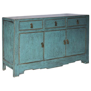 1900s Asian Style Tianjin Blue Sideboard Preview