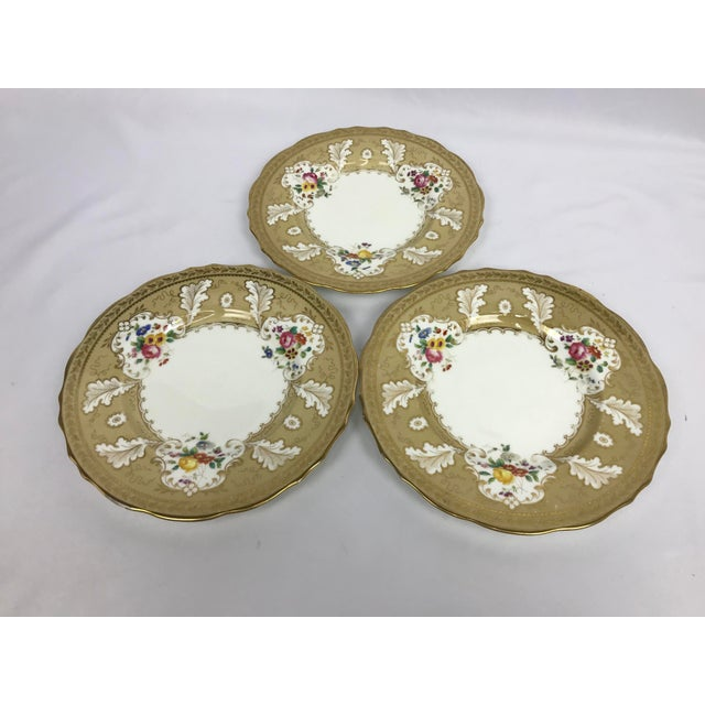"""Late 19th Century Cauldon England for Tiffany New York 9"""" Dinner/Luncheon Plates - Set of 12 For Sale - Image 5 of 9"""