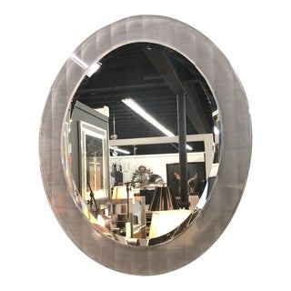 Lucite Beveled Mirror For Sale