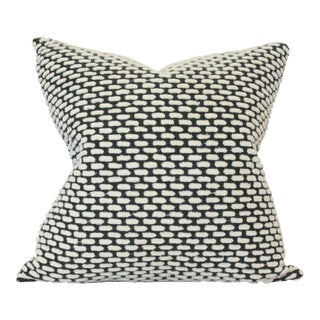 "Pebble Onyx Pillow Cover 18""sq"