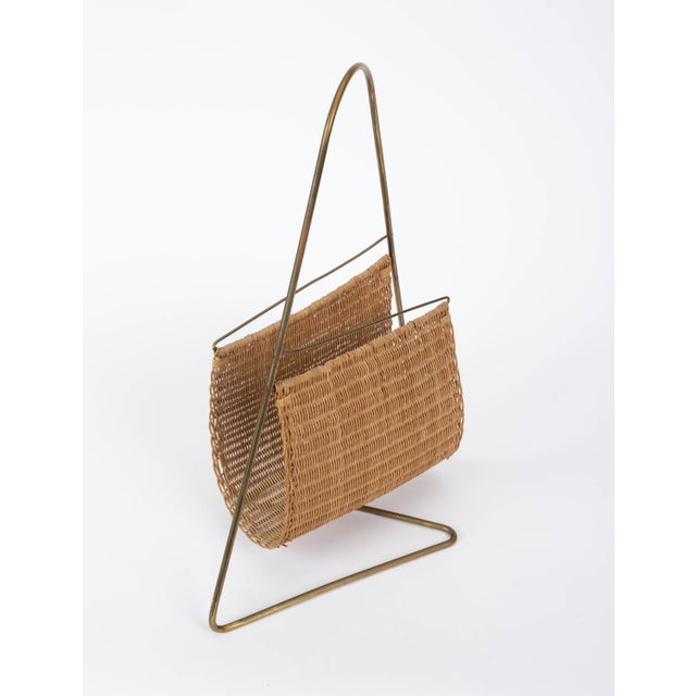 Carl Auböck Attributed Magazine Rack For Sale - Image 9 of 12