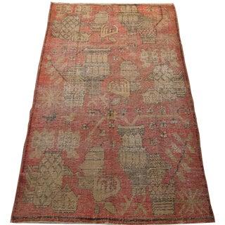 Antique Khotan Samarkand Rug Ca.1900 - 8'3'' X 4'7'' For Sale