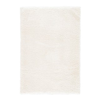 Jaipur Living Katya Solid White Area Rug - 5′ × 8′ For Sale