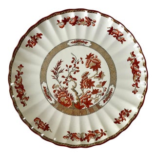 Antique Spode India Tree Pattern Serving or Torte Dish For Sale