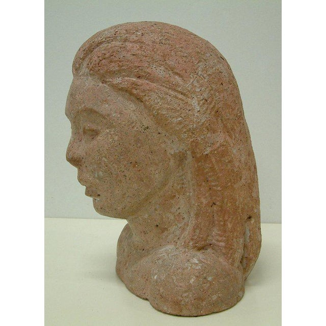 1960 Art Deco Style Aggregate Head - Image 6 of 10