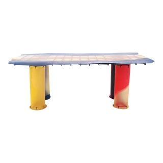 Memphis Gaetano Pesce, Nobody's Perfect Zerodesegno Dining Table For Sale