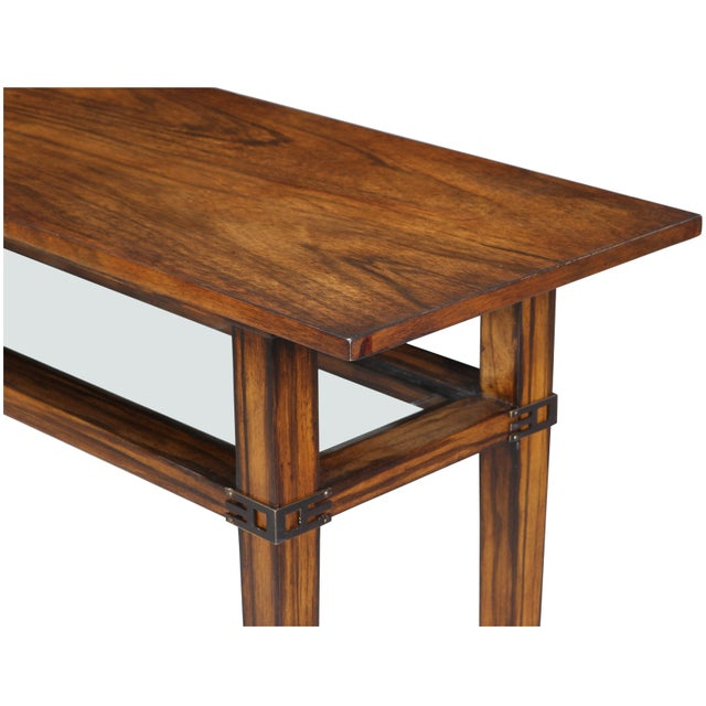 Traditional Modern Sarreid Ltd Taper Console Table For Sale - Image 3 of 5