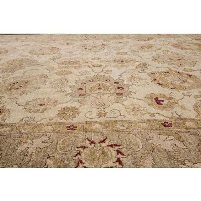 "Textile Apadana Peshawar Rug - 7'11"" x 10' For Sale - Image 7 of 7"