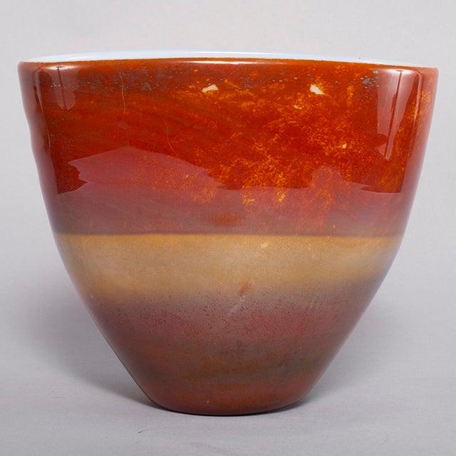 Ermanno Nason for Antonio Da Ros Opaline Murano Glass Bowl For Sale - Image 10 of 10