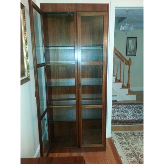 Mid-Century Modern Founders Crystal Cabinet - Image 4 of 8