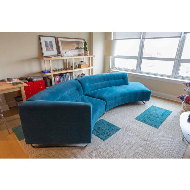 Modern Lazar Calcutta Contemporary Sectional Sofa | Chairish