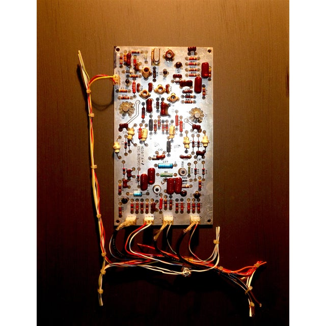 Mid Century Component Art Vintage Circuitry Wall Sculpture / Collage. Bill Reiter For Sale - Image 4 of 13