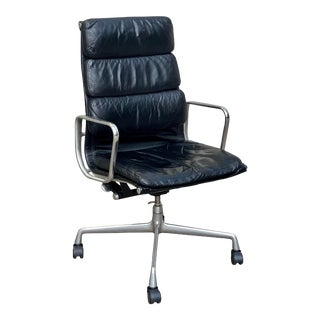 Vintage Eames Soft Pad Executive Chair For Sale