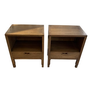1960s John Stuart Janus Collection Night Stands-a Pair For Sale