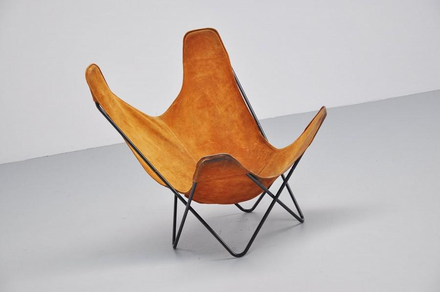 Butterfly Chair By Jorge Hardoy Ferrari For Knoll 1970   Image 3 Of 8