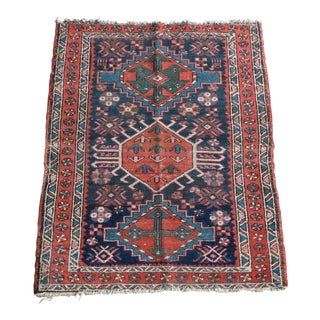 Antique Persian Karajeh Tribal Rug - 3x4 For Sale