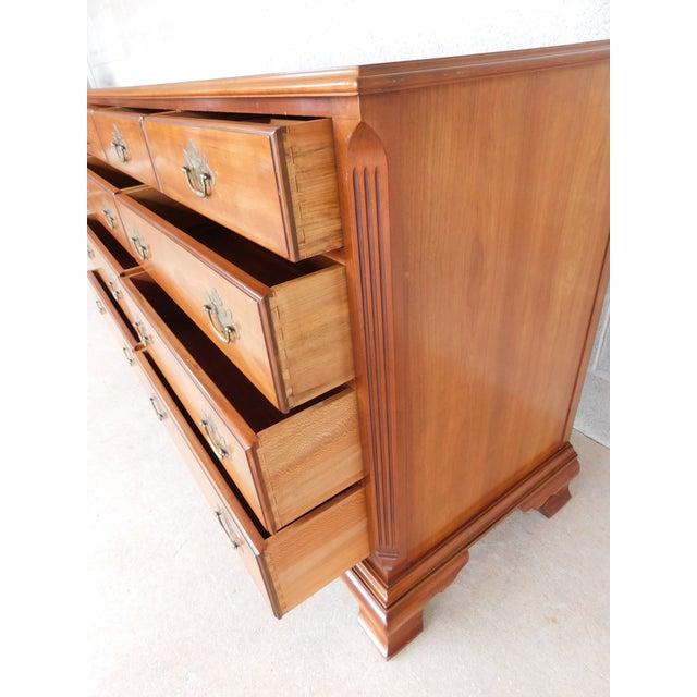 """Kindel Furniture Kindel Chippendale Style 9 Drawer Dresser 62""""w For Sale - Image 4 of 13"""