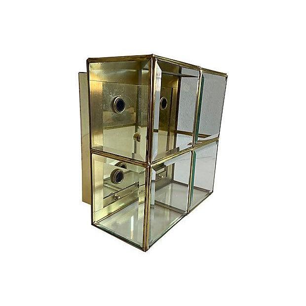 Metal Lightolier Jewel Box Flush Light For Sale - Image 7 of 12