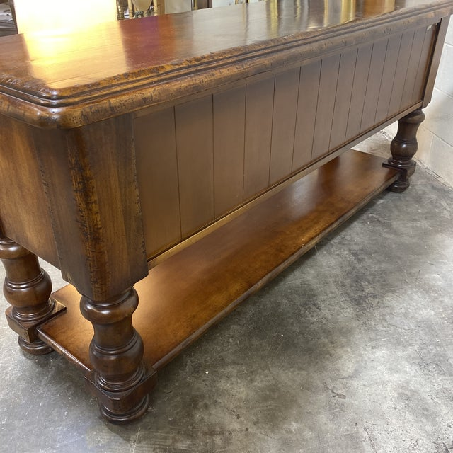 South Cone Trading Co. Mahogany Side Board For Sale - Image 11 of 13