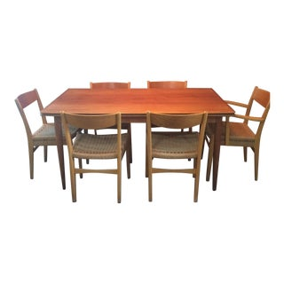 Danish Modern Dining Set For Sale