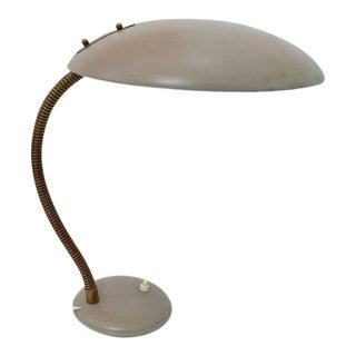 Vintage Task Desk Lamp by Christian Dell for Kaiser Idell 1950s Bauhaus For Sale