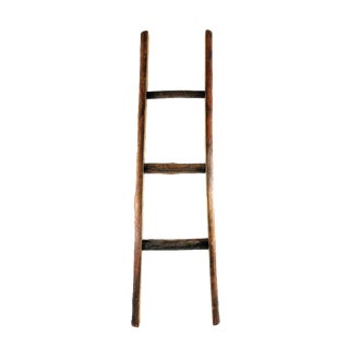 Rustic Wood Display Ladder For Sale