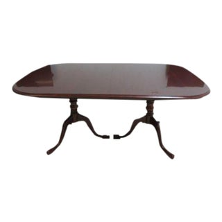 Pennsylvania House Cherry 2 Board Pedestal Conference Banquet Dining Room Table For Sale
