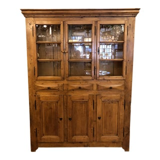 Vintage Camard-Dimer French Display Hutch Cabinet For Sale