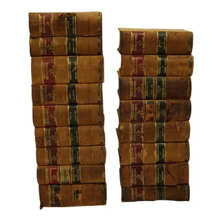 "Turn of the Century Leather Bound ""Encyclopedia of Law"" Books C. 1901-1906"