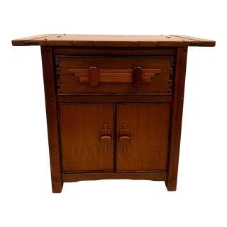 John Arenskov Mahogany Ebony Cabinet For Sale