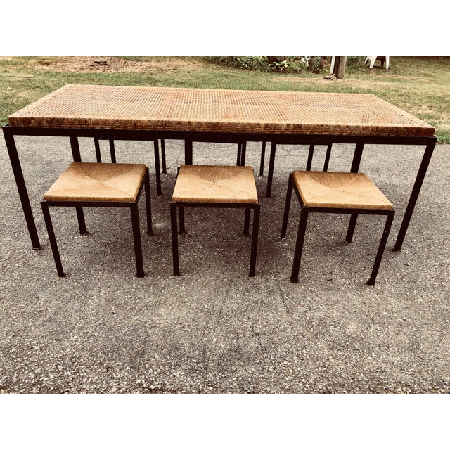 Danny Ho Fong 1950s Vintage Danny Ho Fong Table Set- 7 Pieces For Sale - Image 4 of 10