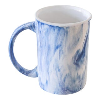 Anaya Blue Sky Ceramic Mug With Steeping Lid For Sale
