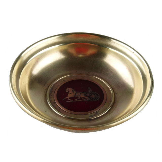 Celine of Paris Brass Catchall For Sale - Image 5 of 5